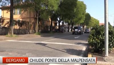 Allarme traffico: chiude il ponte ferroviario della Malpensata a Bergamo