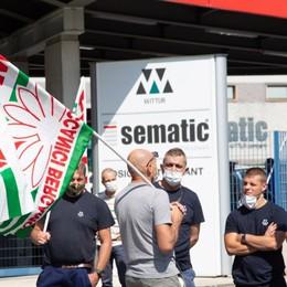 Caso Sematic, 12 mesi di cassa per i lavoratori: «Azienda disponibile ad anticiparla»