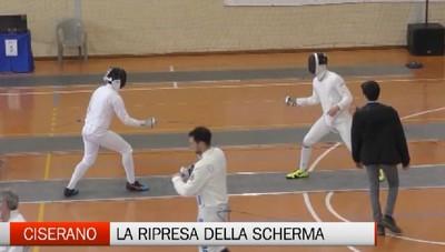 Ciserano, la scherma con 400 atleti in pedana