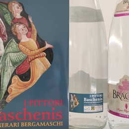 Cultura, arte e territorio: Baschenis sulle bottiglie di Bracca Acque Minerali