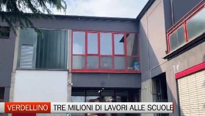 Maxi investimento per le scuole a Verdellino. Previsti interventi da 3 milioni
