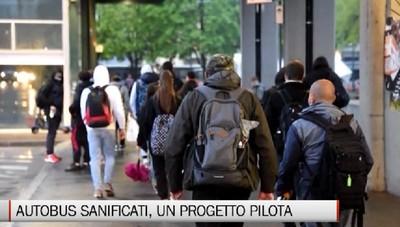 Sanificazione del trasporto pubblico, progetto pilota alla Locatelli. Ora manca la certificazione clinica