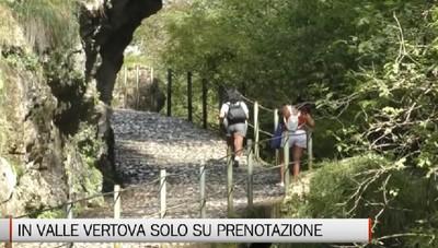 Val Vertova, il sindaco: Mille turisti al giorno e solo su prenotazione