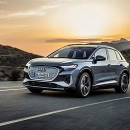 Audi Q4 elettrici: sino a 520 km di autonomia