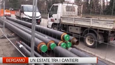 Bergamo: un estate tra i cantieri per il teleriscaldamento