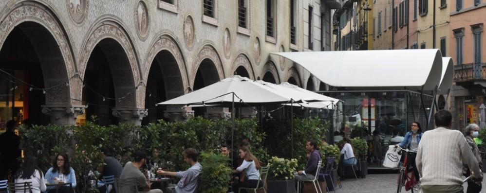 Centro e quartieri, si sta all'aperto. Ecco  gli spazi di Bergamo pronti per i dehors