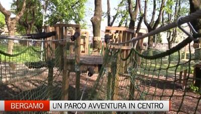 Bergamo: apre un parco Avventura alla Malpensata