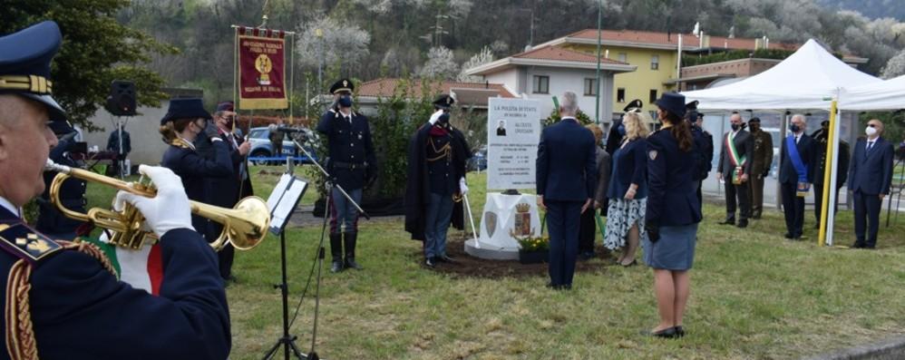 Pontida, commemorazione per i 50 anni dalla scomparsa dell'appuntato Cruciani