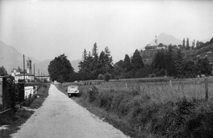 Via Sombreno negli anni Sessanta