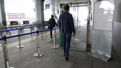 Aeroporto di Orio al Serio, ecco la cabina di sanificazione