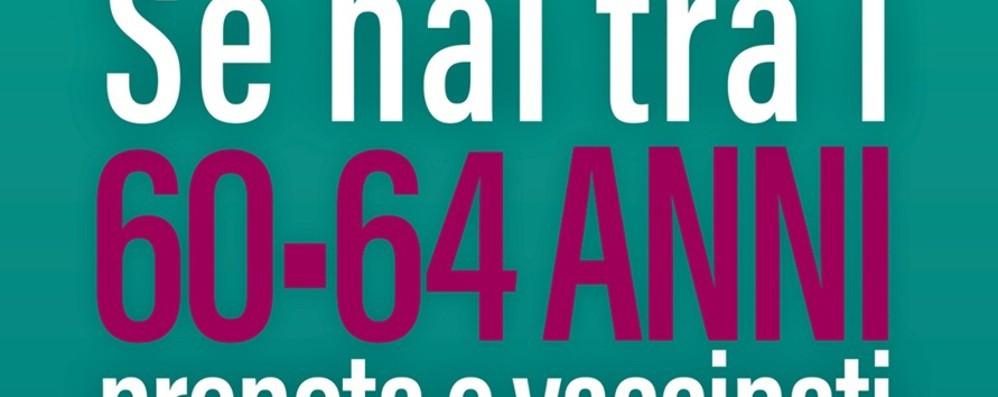 Vaccinazioni anti Covid in Lombardia, dalle 23 di giovedì 22 aprile prenotazioni aperte alla fascia 60 - 64 anni
