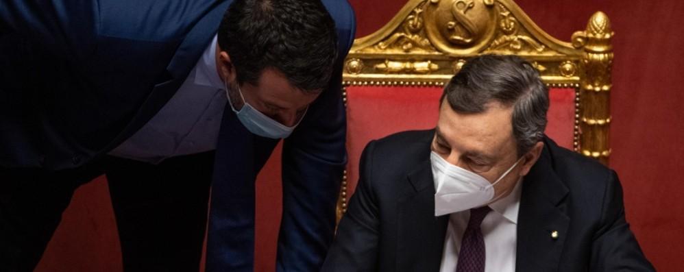 Alleati disuniti Draghi alla prova