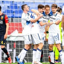 Atalanta, è festa Champions ma che sofferenza! Con il Genoa, mai domo, alla fine è 3-4