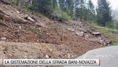 Bani-Novazza, la messa in sicurezza della strada