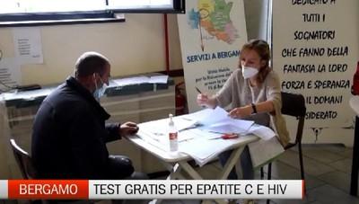 Bergamo: una campagna contro l'epatite C e Hiv gratuita in stazione