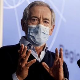 Bertolaso: «La Lombardia corre, oltre 115 mila vaccinazioni in un giorno.  Dosi, maggio il mese chiave per svoltare» - Video