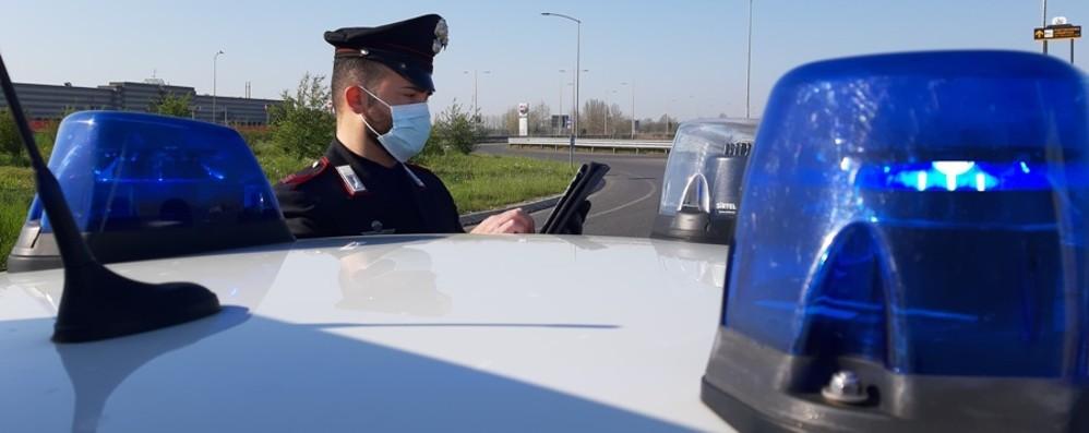 Bonate Sopra, guida senza patente e fugge all'alt: inseguito e arrestato