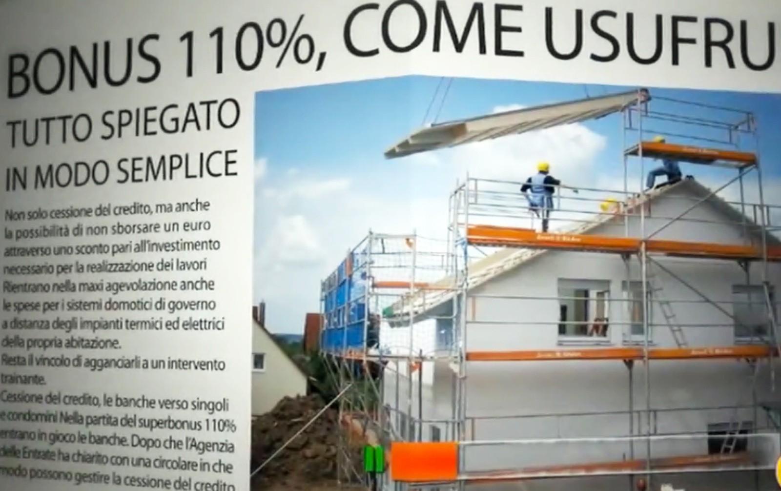 Bonus 110%, in Tv tutti i  rischi dell'amministratore per i lavori del condominio