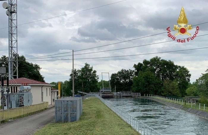 La centrale idroelettrica a Marne