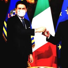 """Come parlano Giuseppe Conte il """"modesto"""" e Mario Draghi l'""""intoccabile"""""""