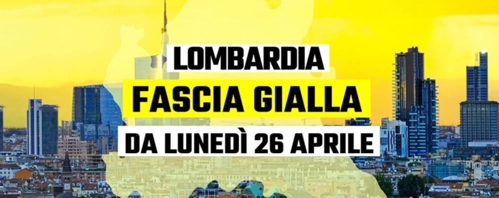 Fontana: «È ufficiale, Lombardia zona gialla da lunedì 26 aprile» - Ecco cosa si può fare