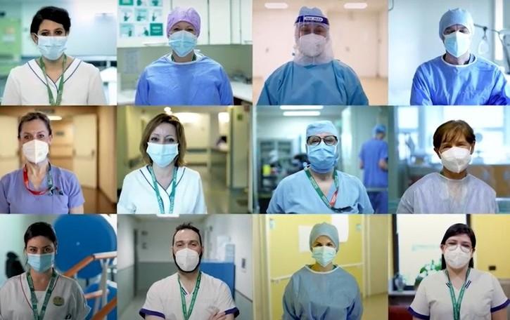Giornata internazionale dell'infermiere, il «grazie» di Humanitas in un video