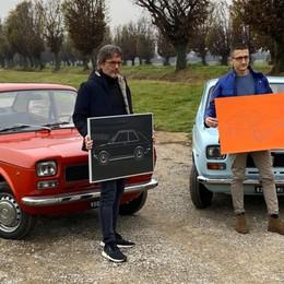 La Fiat 127, mito del car design firmato dal bergamasco Pio Manzù, festeggia 50 anni