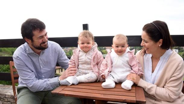 «La mia maternità un viaggio speciale Amalia e Sveva, gemelline premature»