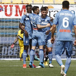Manita Atalanta a Parma, secondo posto. Malinovskyi, Pessina, doppio Muriel e Miranchuck: 5-2