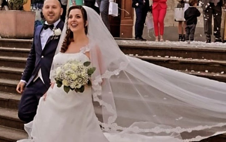 Manuel e Paola finalmente sposi. I primi a Urgnano dopo 2 anni