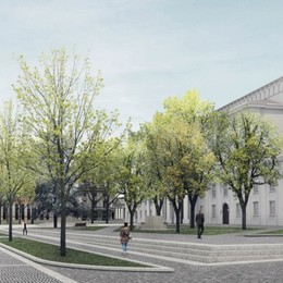 Restyling del centro, una «promenade» per Bergamo 2023
