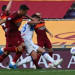 Roma-Atalanta, match analysis. I dati del primo tempo aumentano il rammarico: un tiro ogni 13,5 passaggi (la media è 32)