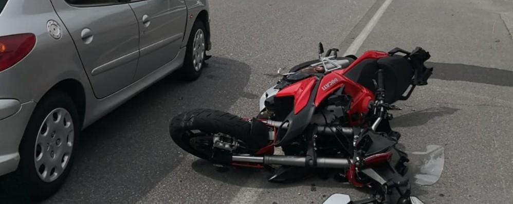 Schianto in moto a Pisogne: gravissimo un bergamasco di 53 anni