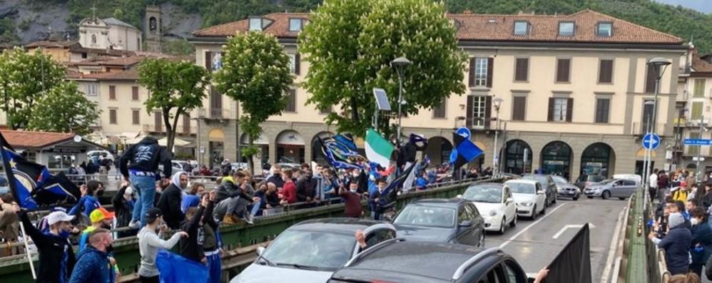 Scudetto all'Inter, festa grande anche a Sarnico