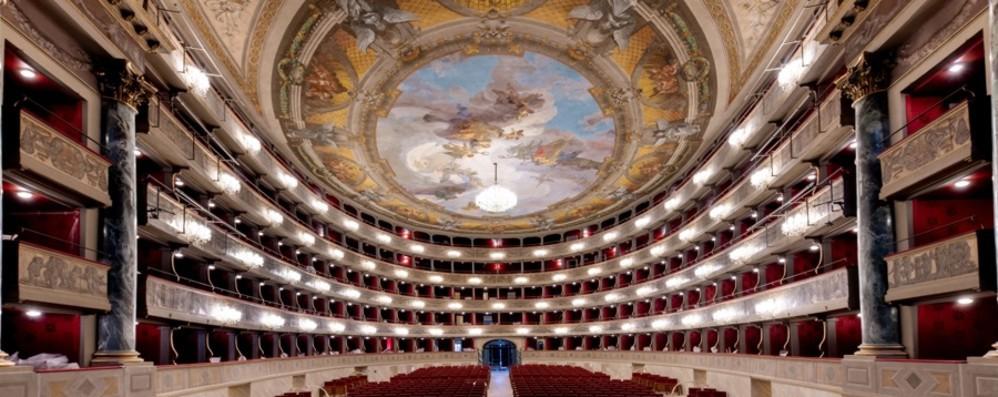Teatro Donizetti in festa, il 28 maggio si riapre al pubblico dopo il restauro