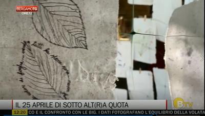 Tic Tac. Foglie su fogli(e), il 25 aprile tra memoria e arte collettiva di Sotto Alt(r)a Quota