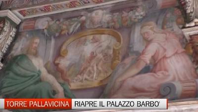 Torre Pallavicina pensa al post covid e riapre palazzo Barbò