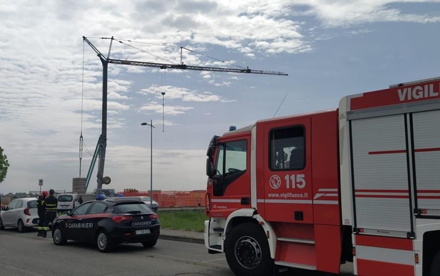 Tragedia in un cantiere a Pagazzano: operaio di 46 anni muore schiacciato da una lastra di cemento