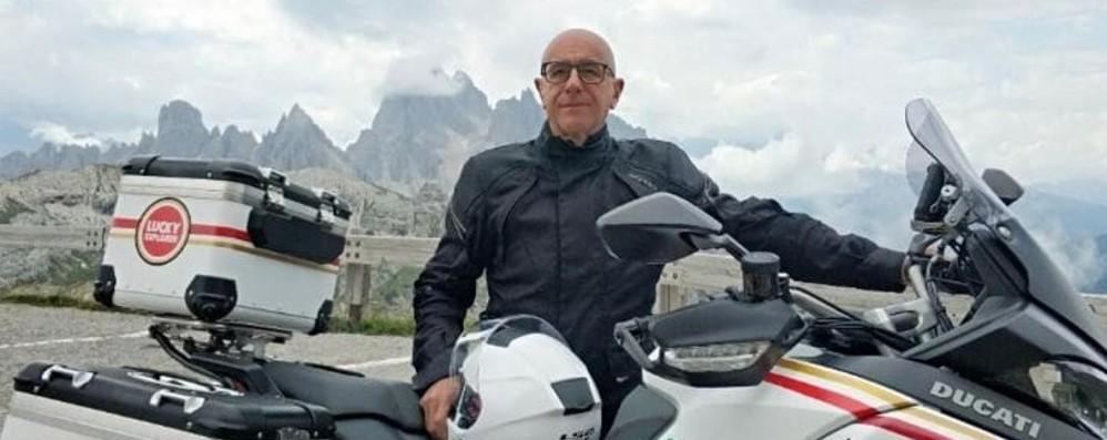 Tragico incidente durante la gita in moto, Albano piange Ferruccio Arsuffi