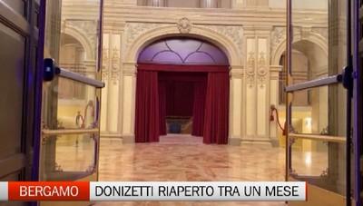 Un mese di festa per il «ritorno» del Donizetti