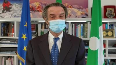 Zona gialla in Lombardia, il commento di Attilio Fontana
