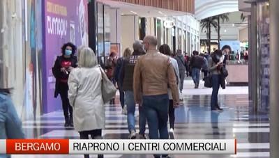 Bergamo - Riaprono nel weekend i centri commerciali
