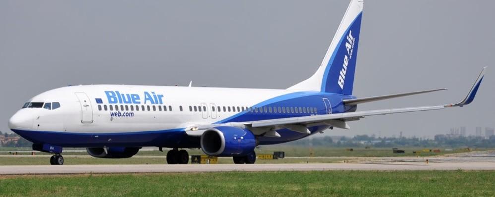 Blue Air, da Orio si torna a viaggiare verso Bacau