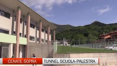 Cenate Sopra, un tunnel per collegare scuola e palestra