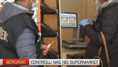 Controlli Nas in quattro supermercati della provincia, venti tamponi negativi