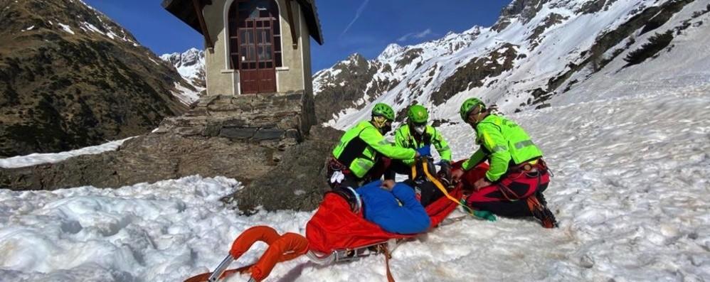 Due incidenti in montagna a Valbondione, interviene il Soccorso Alpino - Foto