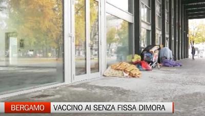 Focolaio al Galgario, la campagna vaccinale per i senza fissa dimora