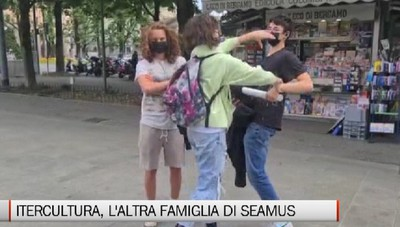 Intercultura, non si è fermata l'accoglienza: Seamus e la sua nuova famiglia