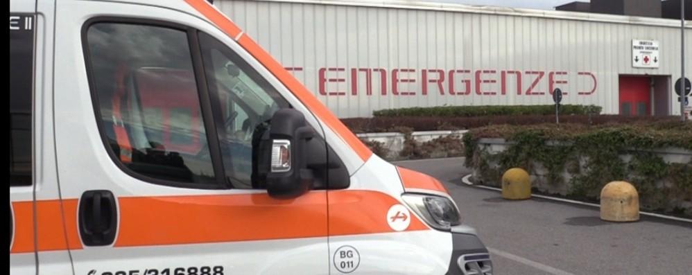 Investito a Sotto il Monte, bambino di 5 anni finisce in ospedale a Bergamo