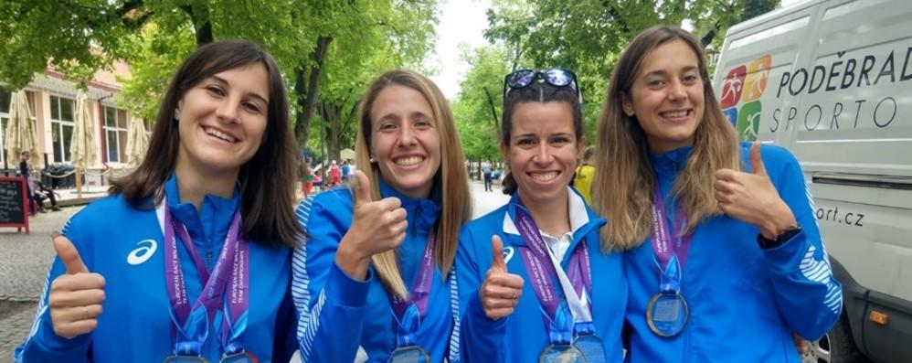 L'Italia targata Bergamo è d'oro agli Europei a squadre di marcia